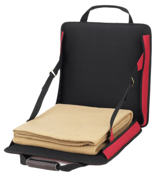 Portable Picnic Seat & Blanket, Red
