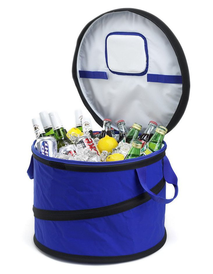 Collapsible Party Tub Cooler, Royal Blue