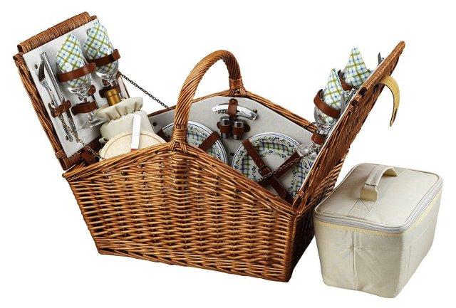 Huntsman Basket for 4 w/ Accessories