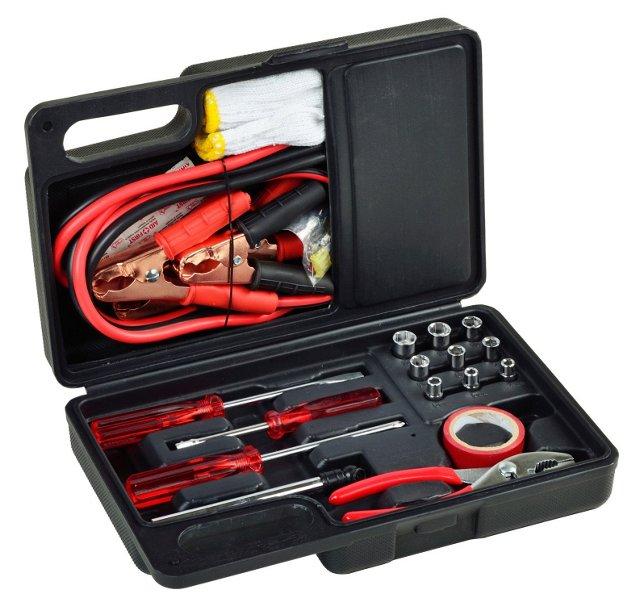 Roadside Emergency Kit, Black