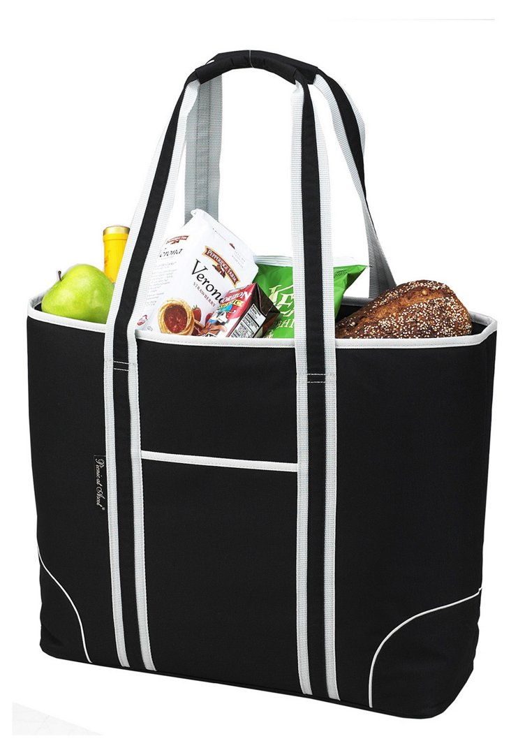 Insulated Tote Bag, Black