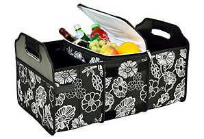 Trunk Organizer & Cooler, Night Bloom