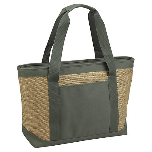 Medium Cooler Tote, Green