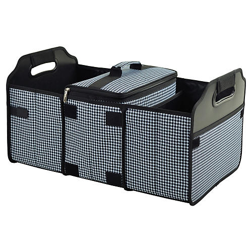 Trunk Organizer & Cooler, Houndstooth