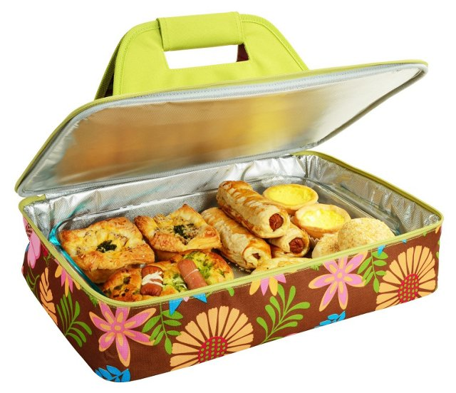 Thermal Food Carrier, Floral
