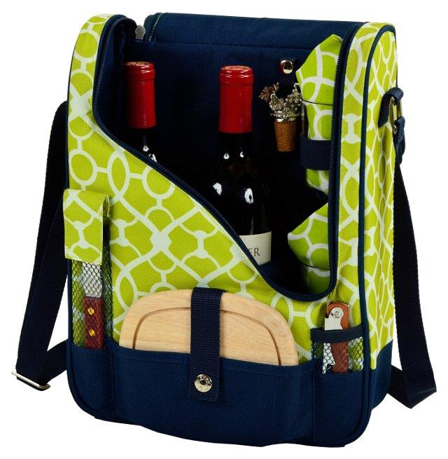 Trellis Wine & Cheese Cooler, Green