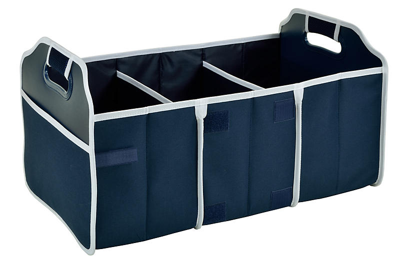 Foldable Trunk Organizer - Navy