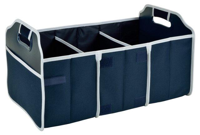 Foldable Trunk Organizer, Navy