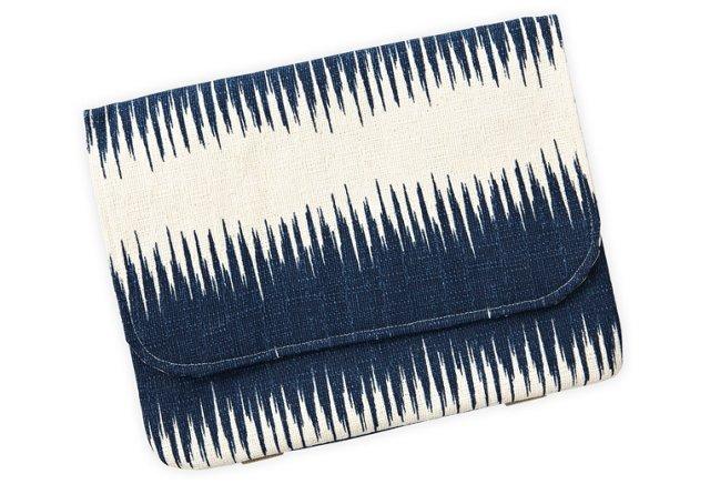 Handlebar Bag, Navy Strips