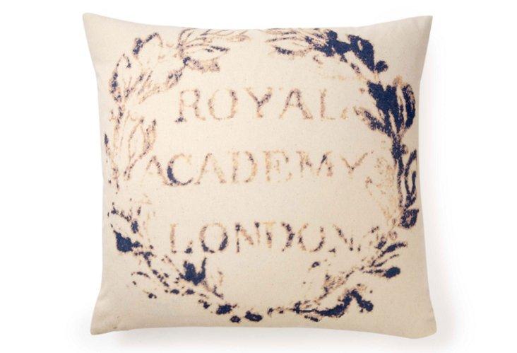 Academy 20x20 Pillow, Blue