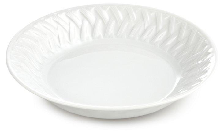 S/6 Louisiane Soup Bowls, White