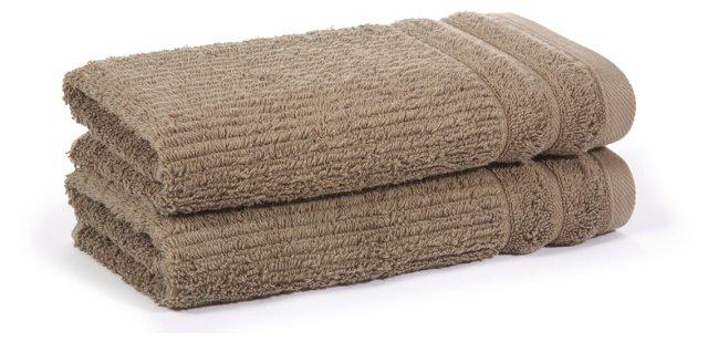 S/2 Hudson Hand Towel, Loden