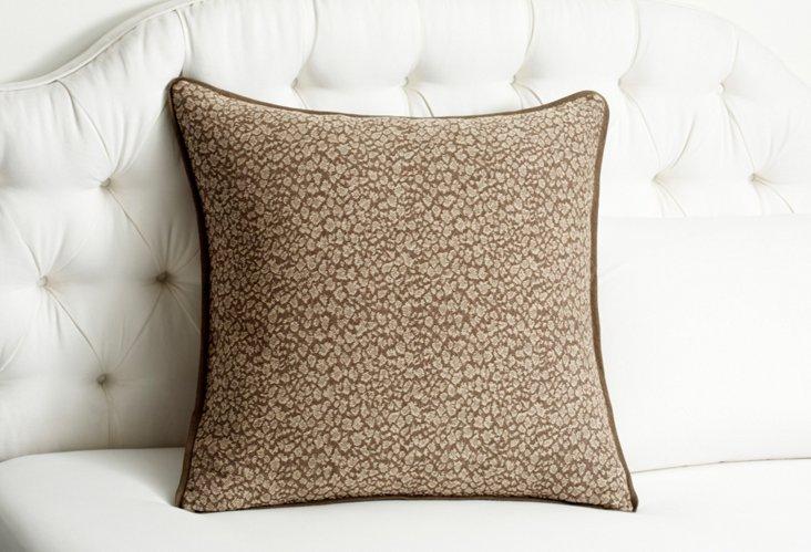 Cheetah Euro Sham, Driftwood