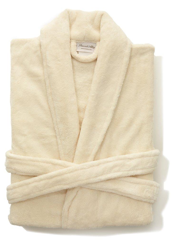 Zen Pearlon Robe, Ivory