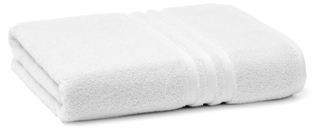 Boca Bath Towel, White
