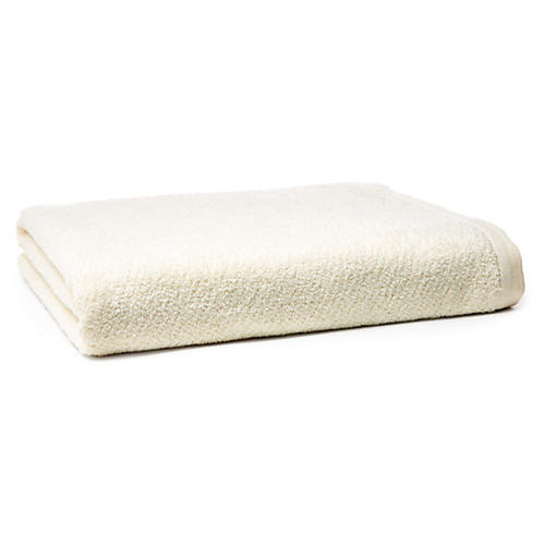 Amalfi Bath Sheet, Ivory