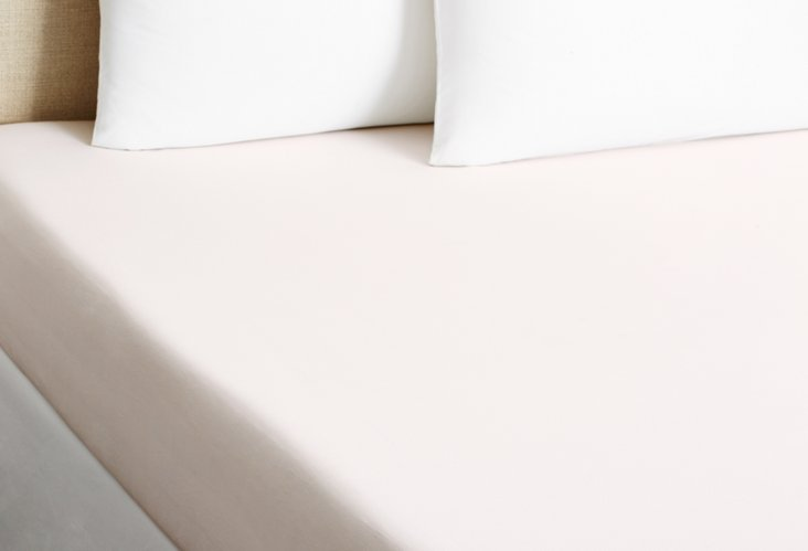 Serenade Fitted Sheet, Nude