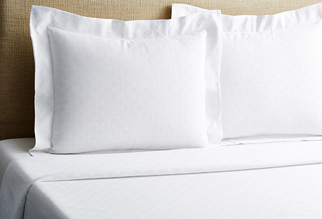 Vivace Coverlet Set, White