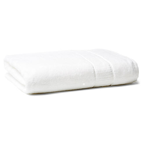 Dublin Bath Sheet, White