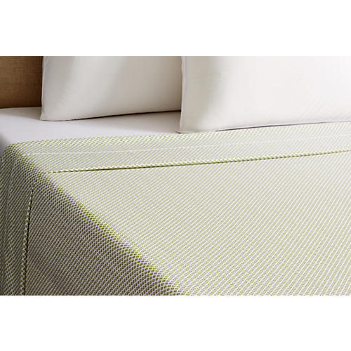 Emma Flat Sheet, Green