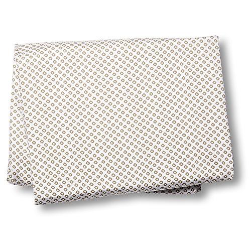 Emma Fitted Sheet, Linen