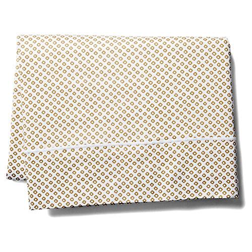 Emma Flat Sheet, Beige
