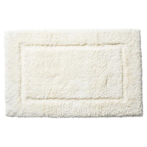 Tiffany Bath Rug, Ivory