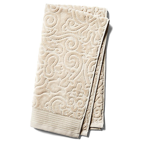 Park Avenue Hand Towel, Beige