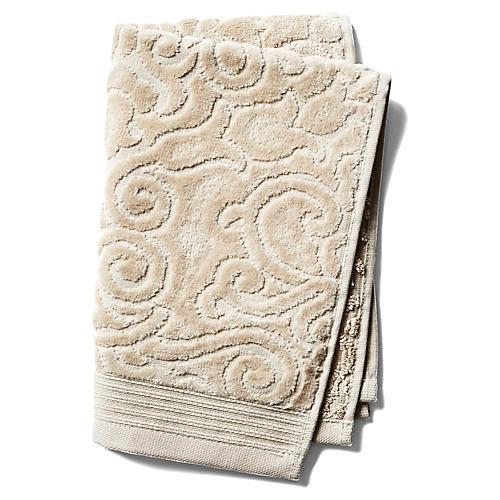 Park Avenue Guest Towel, Beige