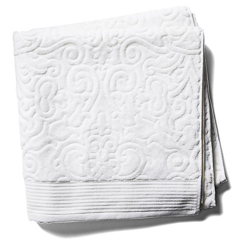 Park Avenue Bath Towel, White