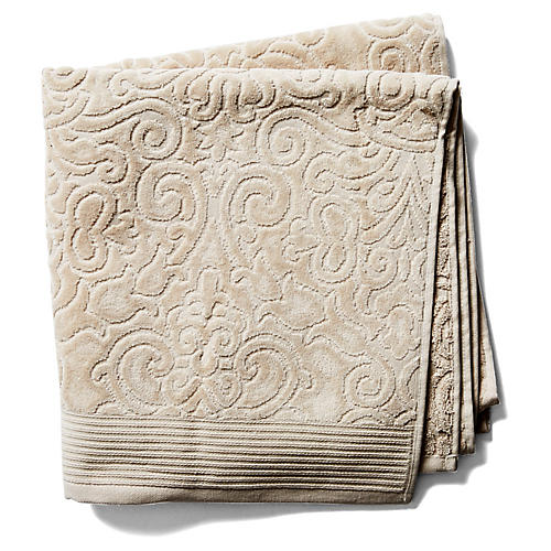 Park Avenue Bath Towel, Beige