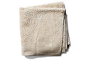 Park Avenue Bath Towel, Beige*