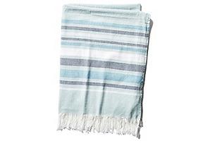 Costa Fouta Towel, Blue*