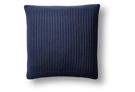 Captiva 20x20 Pillow, Navy