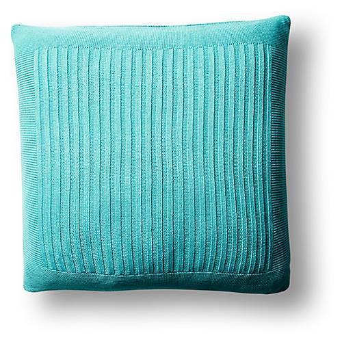 Captiva 20x20 Pillow, Aqua