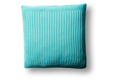 Captiva 20x20 Pillow, Aqua