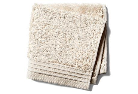 Plaza Washcloth, Wheat