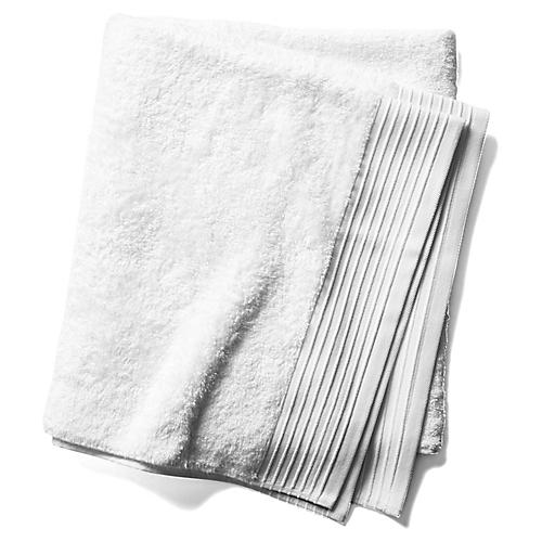 Plaza Bath Sheet, White