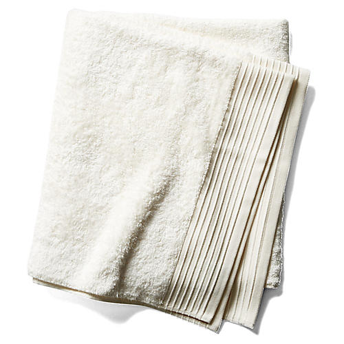 Plaza Bath Sheet, Ivory
