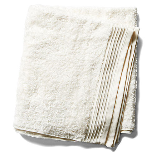 Plaza Bath Towel, Ivory