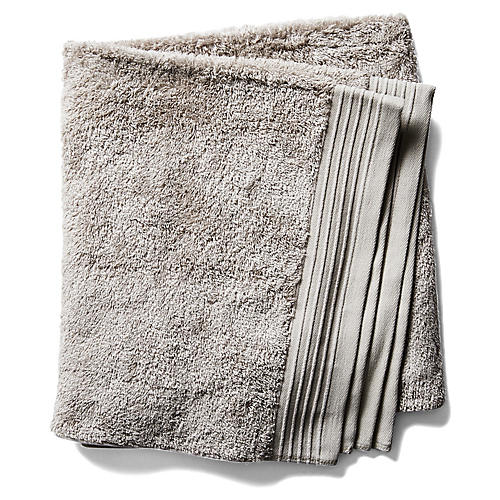Attractive Plaza Bath Towel, Flint