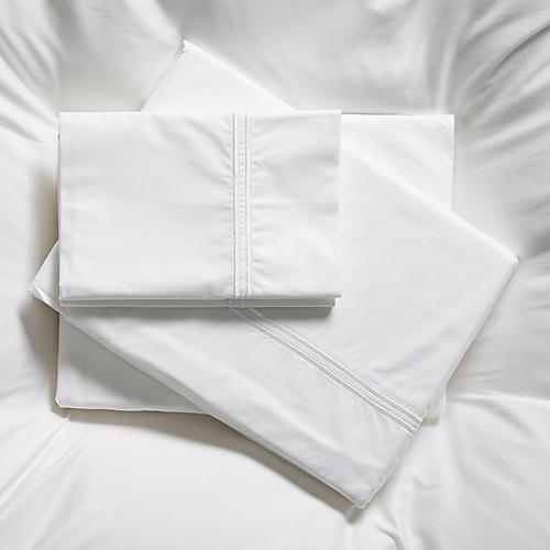 Faith Sheet Set, White