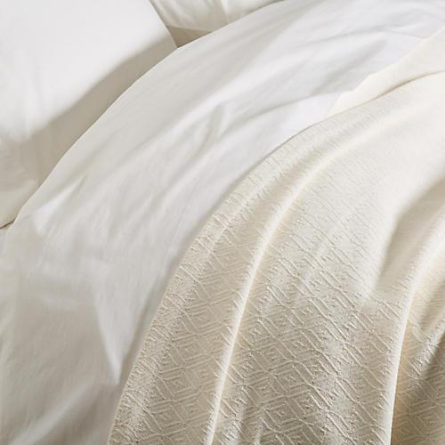 Jewel Blanket, Ivory