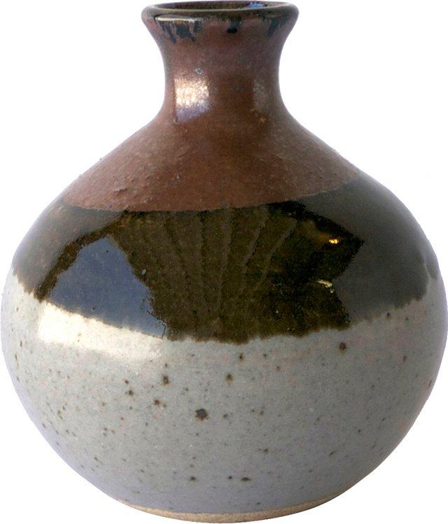 Brown & White Vessel