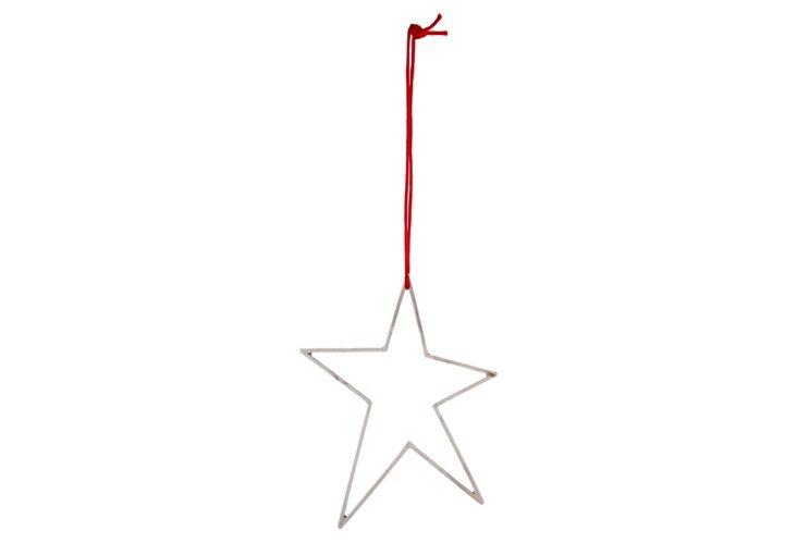 Sterling Star Ornament