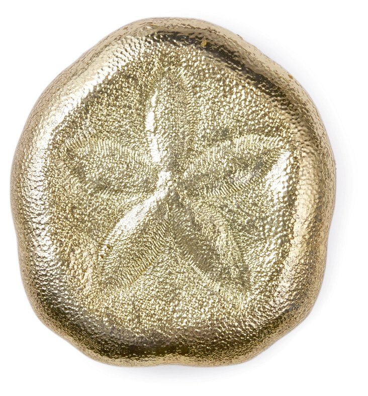 18-Kt Gold-Plated Sand Dollar