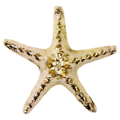 18-Kt Gold-Plated Knobby Starfish