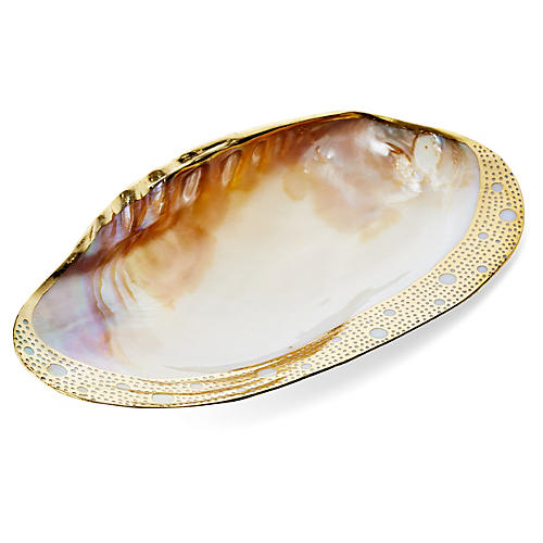 24-Kt Gold Plated Freshwater Shell