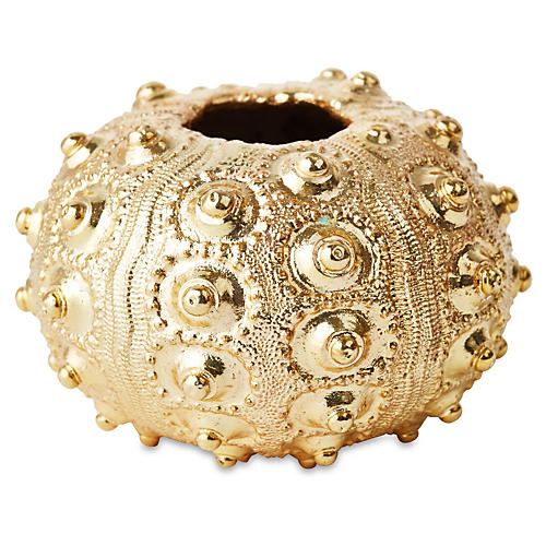 Gold-Plated Sputnik Sea Urchin