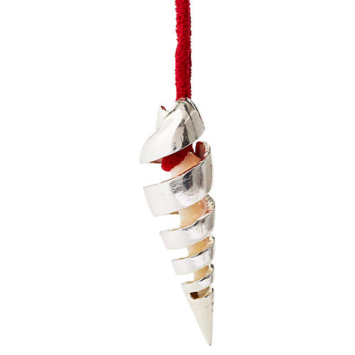 """5"""" Sterling-Silver Maculata Ornament"""
